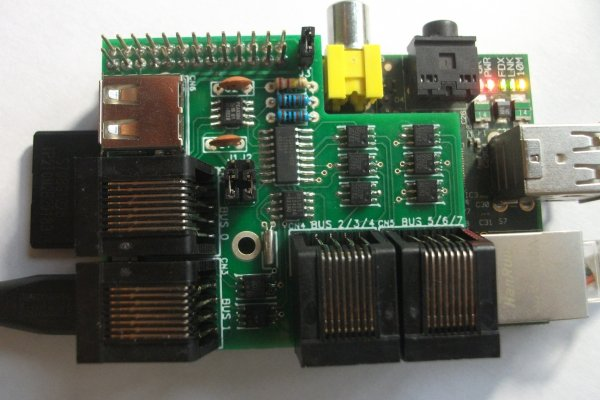 RPI3 v1 1-Wire Host Adapter for Raspberry Pi Models A and B